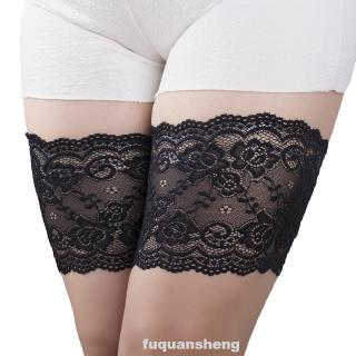 Women Leg Inner Wear Non Slip Sexy Lace Daily Thigh Bands Anti Chafing