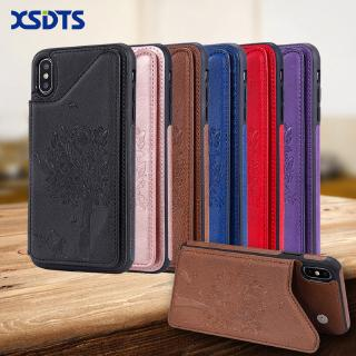 XSDTS Wallet Case For iPhone X XS XR MAX 8 7 6 6s 5 5s Plus SE 11 2019 Leather Flip PU Phone Cover