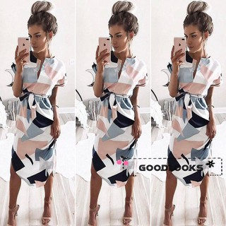 L.O-NEW Sexy Women Summer Long Maxi BOHO Evening Party Dress Beach Dresses