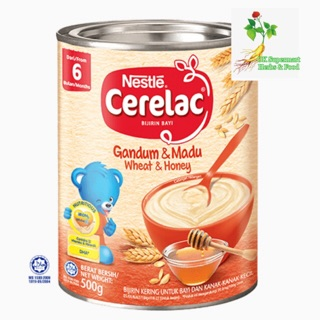Nestle Cerelac Gandum & Madu 500g (Honey)