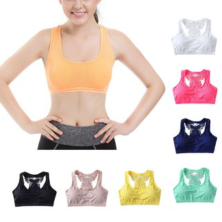 Women Yoga Top Sports Bra
