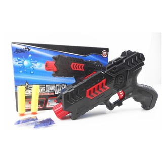 bullet gun toys EVA bullet + water bomb dual-purpose pistol bursts of crystal