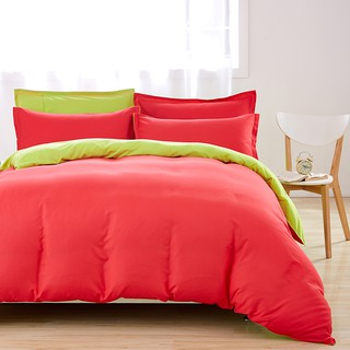 3pcs/4pcs Solid Aloe Cotton Quilt Cover Sheet Pillowcase Complete Bedding Sets