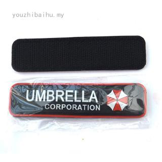Umbrella (Size: Badge PVC Tab Umbrella Corporation Logo  Faddish  Badge Patch Practical Black) PVC Logo Funny