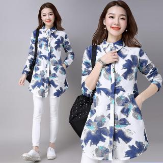 Womens Korean-style Casual Printed Jacket Women Dress Taobao Collection