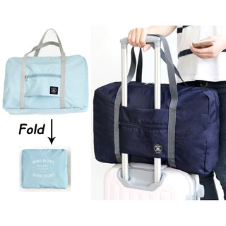 Foldable Travel Bag Waterproof Clothes Storage Bags Large Capacity Tote Luggage Organizer
