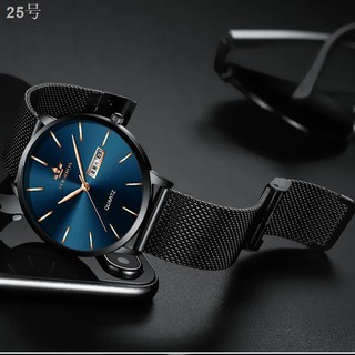 Official authentic fine steel belt not mechanical automatic watch men with ultra-thin students waterproof noctilucent