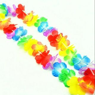 10 pcs Hawaiian Leis Garland Necklace
