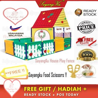 [M'sia] Sunny Play House Baby Playard Home Play Fence Ball Pit Kids Tent