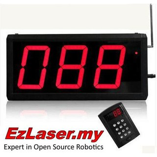 Restaurant Cafe Wireless Keypad Call System Waiter Counter Cashier Food Calling Order Receipt Wireless Number Queuing