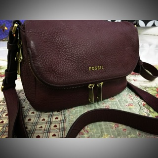 NWOT fossil preston small flat crossbody *SOLD*