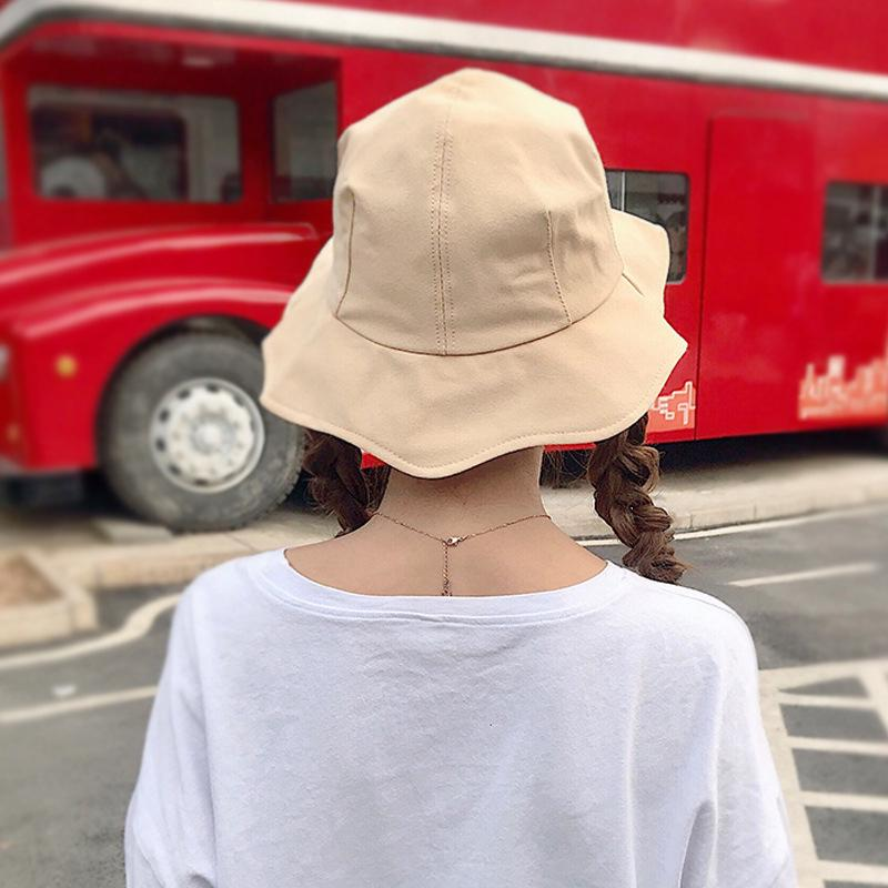 Fisherman's Hat Casual and Versatile Summer Hat Korean Sun Hat Japanese Style Small Fresh Basin Hat