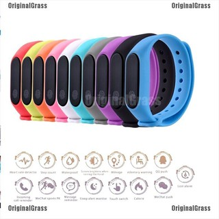 [OGrass]Smart bracelet watch wristband sleep heart rate monitor activity tracker