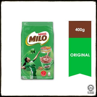 Nestle MILO Activ-Go Chocolate Malt Powder Soft Pack (400g)
