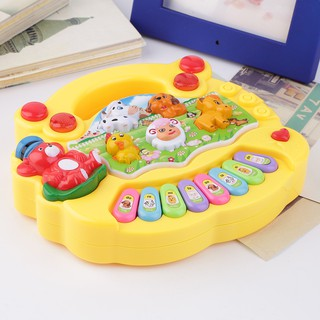 Baby Kids Educational Musical Animal Farm Piano Developmental Music Toy