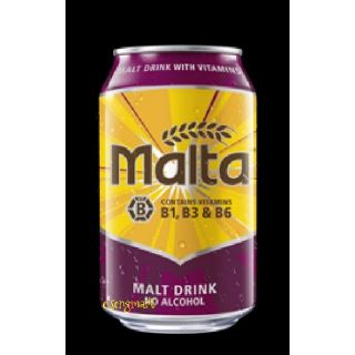 Malta non alcoholic drink - 6 x 320ml