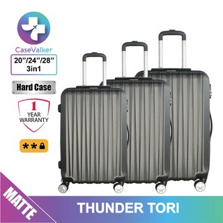 Case Valker Thunder Tori ABS 3 in 1 Luggage Bag Set (28
