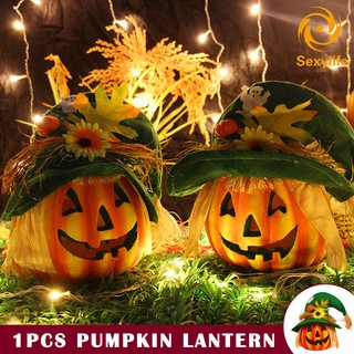 NEWPumpkinSALE Lantern Light Lamp Glowing Decorations for Halloween Party Bar Festival