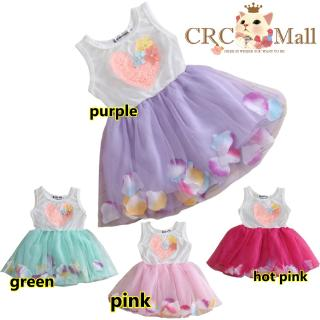 Princess Baby Flower Girl Dress Lace Bowknot Party Gown Bridesmaid