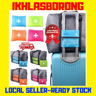 (Ready Stock) Waterproof Expandable Foldable Flight Travel Organizer Storage Bag
