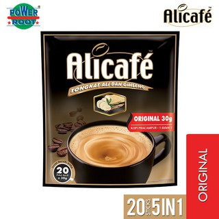 Alicafe Premix Coffee Drink with Tongkat Ali and Ginseng 20'sX30G
