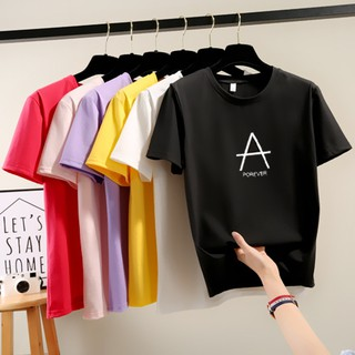 2019 summer new Korean short-sleeved women's t-shirt loose bottoming shirt shirt female In stock