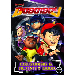 BOBOIBOY (Movie Series) Colouring and Activity Book 2