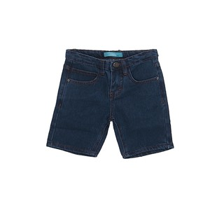 F.O.S Pebbles Rolled Up Shorts - Light Blue