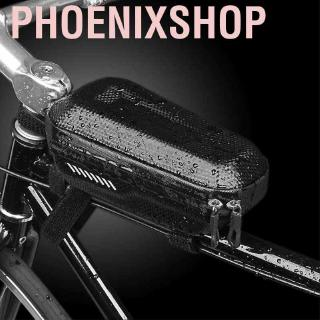 Phoenixshop EVA Hard Shell Waterproof Bicycle Cycling Bag Front Tube Frame Pouch Holder Saddle Bags Accessory