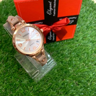 Fossil fashion watch with date