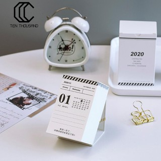 (Ready Stock)Tenthousand New Year 2020 Desktop Notes Calendar 365-Page Agenda Daily Planner Book