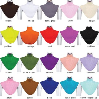 Ready Stock Women Hijab Modal Turtleneck Neck Cover Dickey Mock Collar
