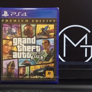 Ps4 - Grand Theft Auto V : Premium Online Edition 侠盗猎车手V : 在线模式豪华版 (R3) GTA 5 中英文版 Eng/Chi Ver