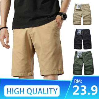 Men's Shorts Men's Five-point Pants Cotton Large Size Beach Pants Breeches