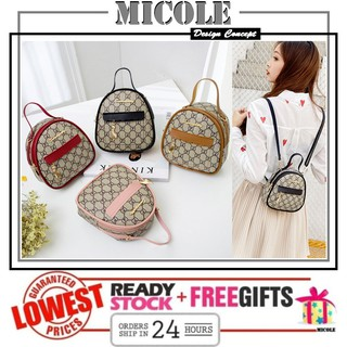 Ready Stock  MICOLE SB2328 Korean Shoulder Bag Handbag Women Sling Bag Backpack Tote Bag Beg +