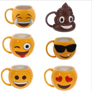 Funny Kuso Shit Mug Ceramic Coffee Cup Kawaii Emoji Tea Cup Zakka Novelty Gift