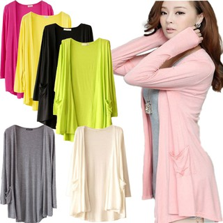 Raya Summer Women Long Sleeve Women Dress Tops Soft Cardigan Baju Cantik