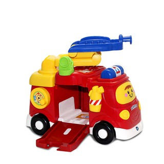 ▧VTech magic orbit large fire engines model ladder engine car toys