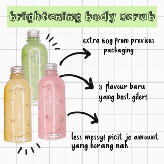 HOT DEAL + FREE GIFT Temyracle Brightening Body Scrub