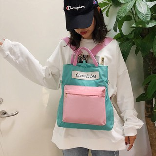 🌟Local Seller - 1 Day Delivery🌟Korean style 3 Way Canvas Casual Backpack B3