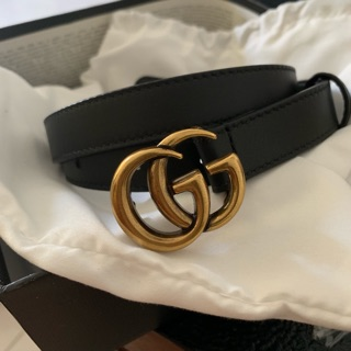 GUCCI Belt 2cm/ 3cm/ 3.4cm %Genuine Leather [Imported Stock] Made In Itay