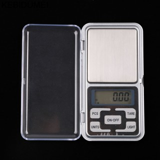 Kebidumei Electronic Digital Jewelry Scale 0.01g Jewelry Mini LCD Scales Tool