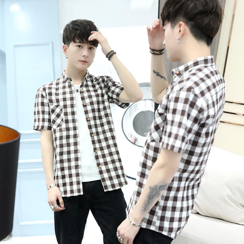 Classic 100% Cotton Men's Shirt Casual Shirt