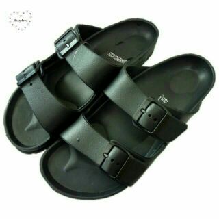 Ready Stock Birkenshoes Double Straps Shoe Sandal Soft Material