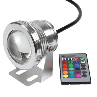 10w rgb 12v colorful underwater, swimming pool, fountain, bath lights