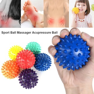 🌹Spiky Massage Ball Trigger Point Hand Foot Pain Relief Muscle Relax Ball