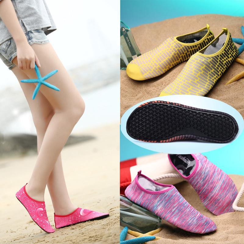 Water Aqua Gym Shoes Dive Soft Swimming Wading Travel Ultralight Outdoor Sneakers Women Men Yoga Fitness Fishing sport