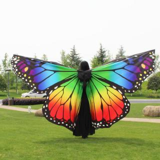 2020 New Hot Sale Egypt Belly Wings Dancing Costume Butterfly Wings Dance Accessories No Sticks For Wholesale