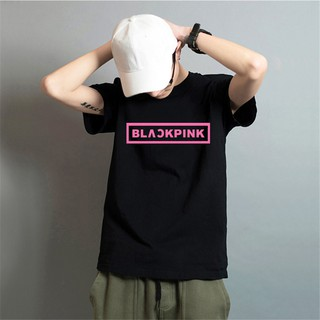 KPOP BLACKPINK Short Sleeve Cotton T-Shirt Unisex Tops Large Size XXS