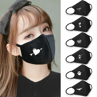 Emoji Cotton Mouth Face Mask Cover Respirator Cycling Anti-Dust Anime Outdoor
